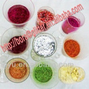 BL Glitter Powder & Glitter Dust & Glitter Pieces for Nail Art