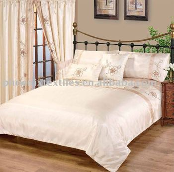 Cheap Faux Silk Embroidery Duvet Set Buy Cheap Bedding
