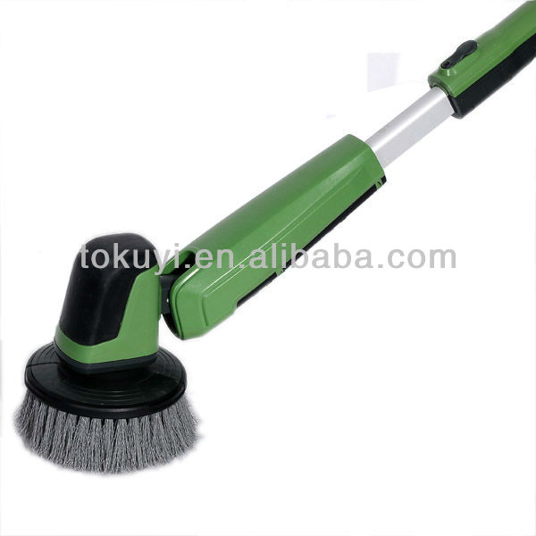 Battery Powered Hand Held Floor Scrubber - Carpet Vidalondon