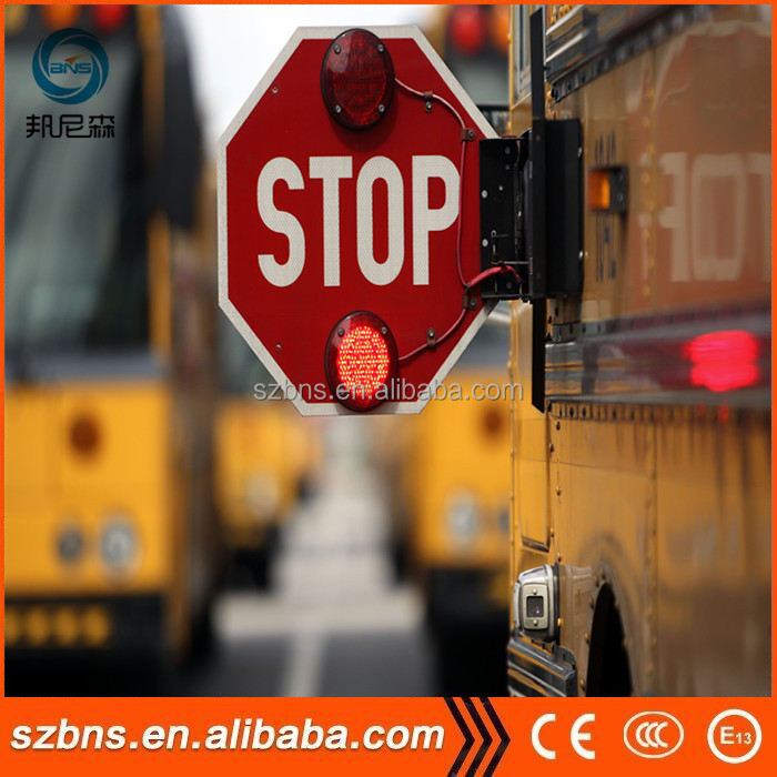 LED Electronic stop sign on school bus led electronic stop sign on school bus in stock buy bus stop 1971 Volkswagen Wiring Diagram at gsmportal.co