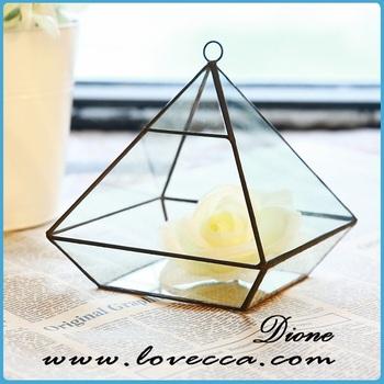 Handmade Glass Terrarium / Modern Planter For Indoor Gardening ...