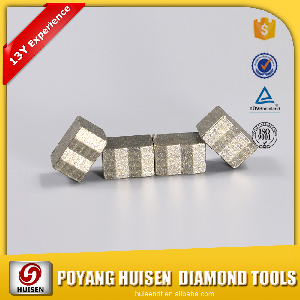 Construction Materials Professional Quality Diamond Segment for Re-Tip
