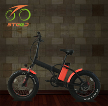 beautiful design 500w gear motor removable electric bicycle folding
