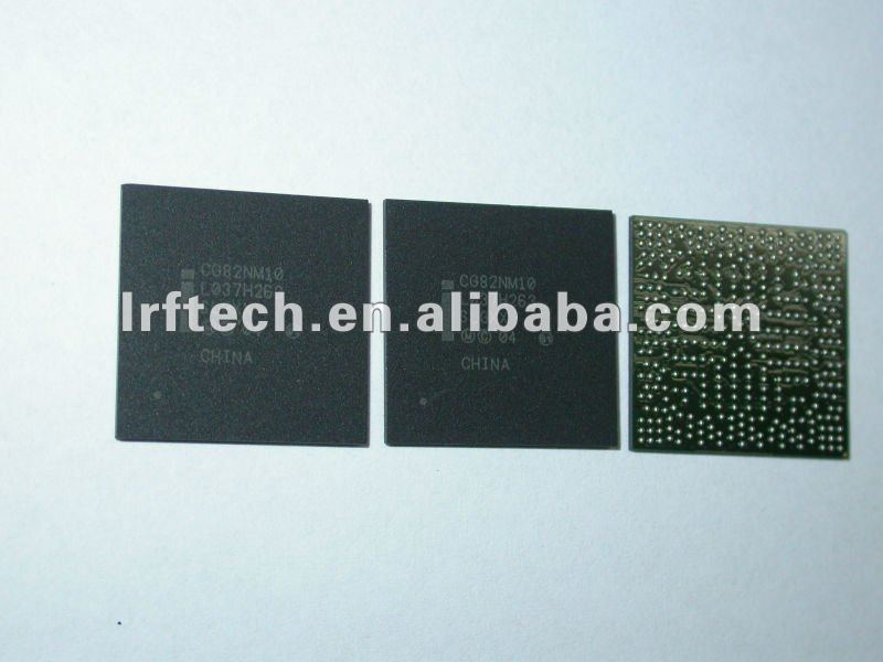 100% new and original CG82NM10 SLGXX Intel north bridge chipset, date code: 1037, LRF new arrived popular laptop chipset