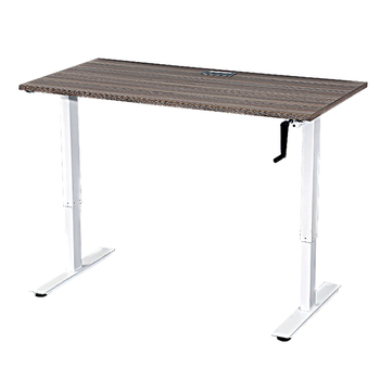 Adjustable Desk Leg Hand Manual Height Table Frame Two Legs Sit To Stand Manual Ergonomic Height