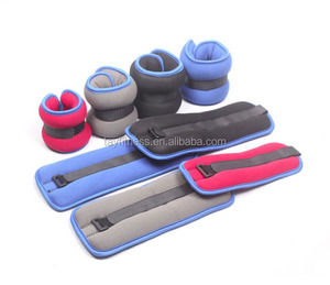 Fitness weight equipment adjustable sand filled ankle wrist weights