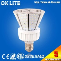 High Quality E39 ETL 80w led post lantern