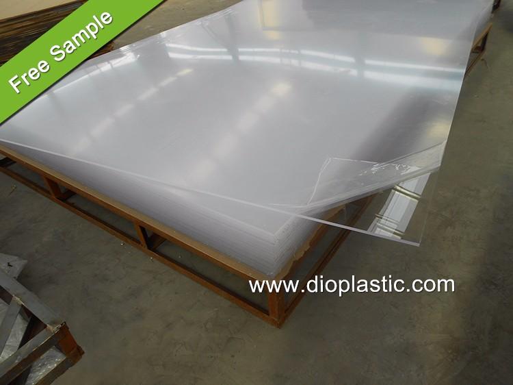 Dio Factory 100% Virgin High Gloss Acrylic Board Clear Plastic ...