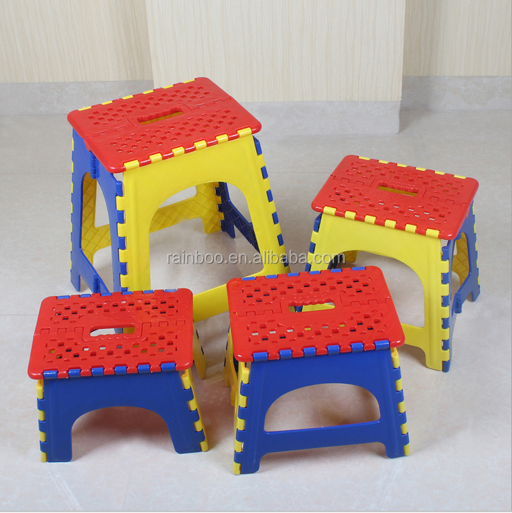 Top sale heavy duty travel home furniture stool strong folding step stool chair