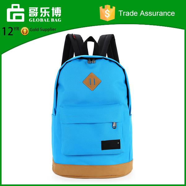 Yiwu manufacture 2017 colorful school bag student's backpack