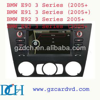 dvd syst me de navigation audio de la voiture pour bmw e90 e91 e92 e93 manuel climatiseur ws. Black Bedroom Furniture Sets. Home Design Ideas