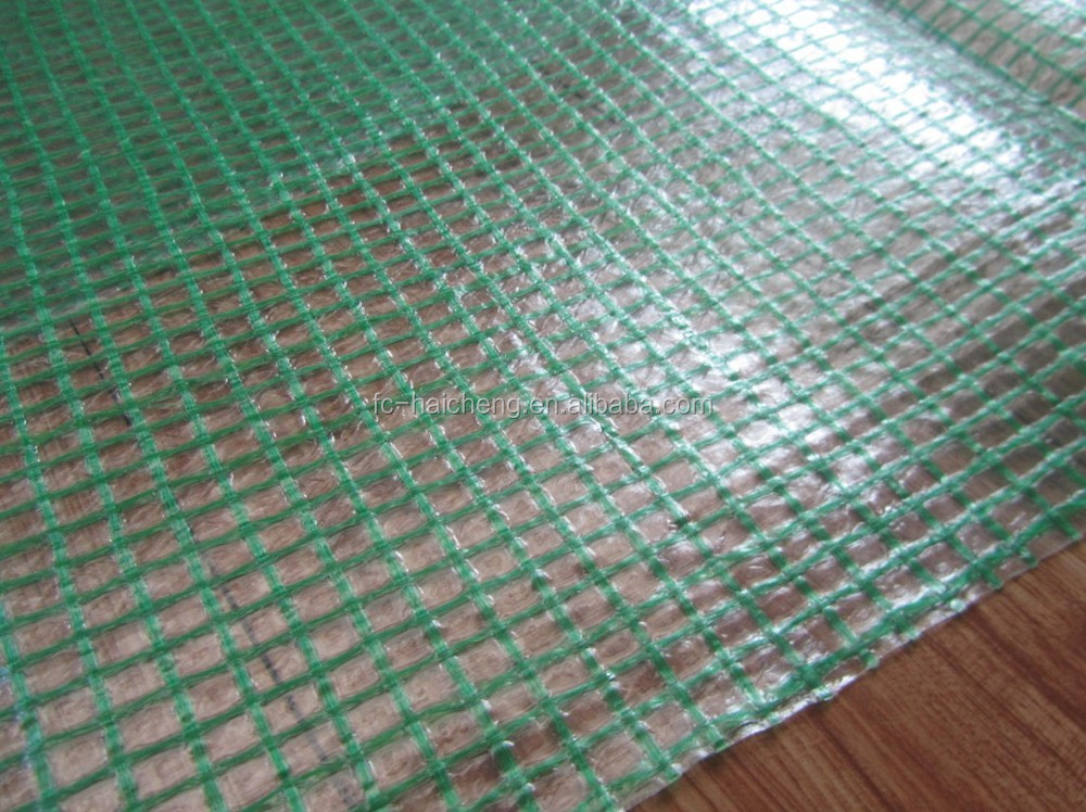 Transparent Polyethylene Net Fabric Roofing Cover Pe