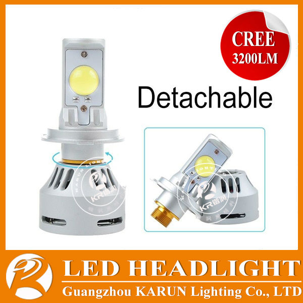 2014 new LED replacement H1 H3 H4 H7 D1 D2 D3 D4 9005 9004 9007 HB3 HB4 9006 replacement for hid and halogen bulbs