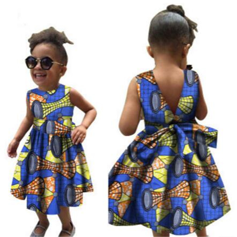 Tribal Ethnic Fit Flora Print Fashion Clothing Cotton Wax Baby Kids Princess Girl Ball Gown Swing African Dashiki Dresses Buy Little Girls Ball Gown Dresses Kids Ball Gown Wedding Dresses African Print Dress