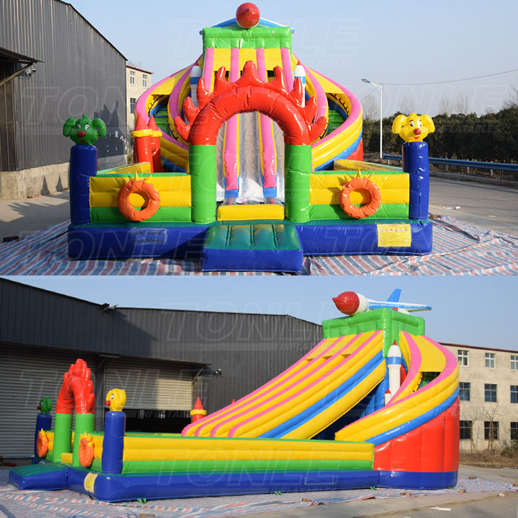 spaceship inflatable slide for sale