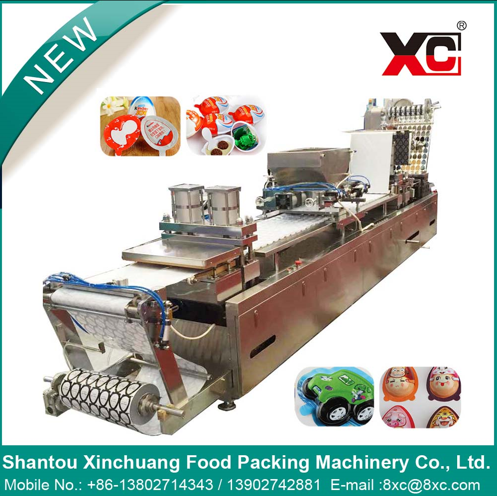 Chocolate Automatic Blister Packaging Filling sealing Machine