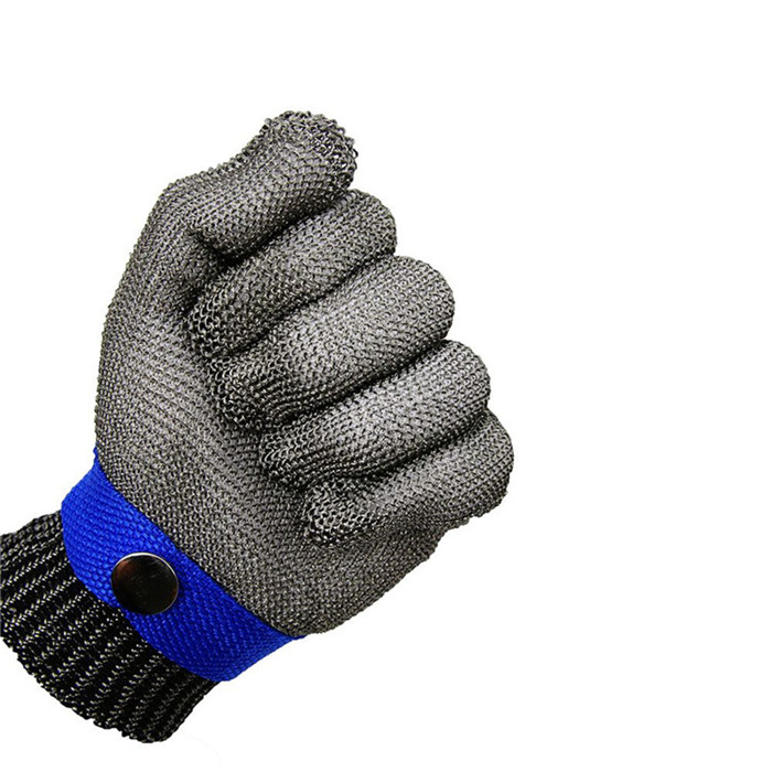 Cutting Defense Anti Cutting Stainless Steel Mesh Gloves