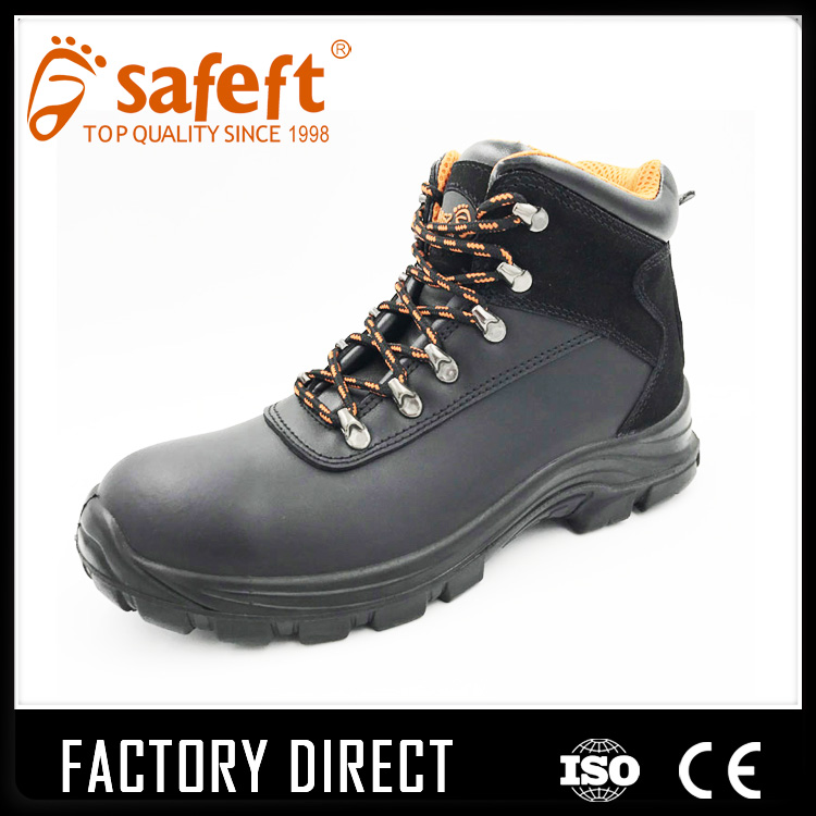 Steel toe lightweight ortheropedic chemical acid resistant safety shoes /korea