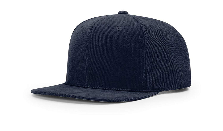 3e95fb5acbe Get Quotations · Richardson 953 CORDUROY SNAPBACK BLANK BASEBALL CAP OSFA  HAT