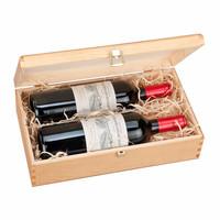 luxury custom packaging box wooden box wine gift box