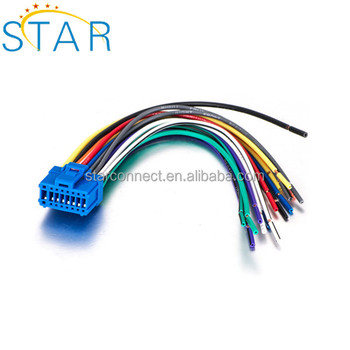 nd Car Radio 16 Pin 17 Pin 20 Pin Male Female Iso Wire Harness - Buy Male Wire Harness Pin on