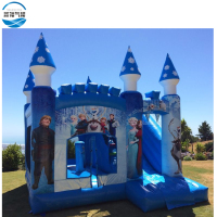 Cheap inflatable bouncer house for sale,used frozen inflatable bouncer castle for children