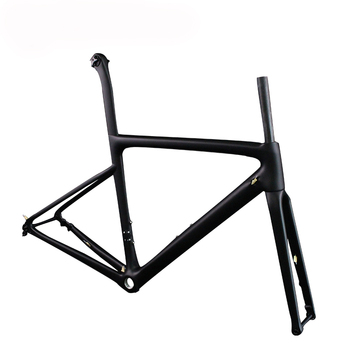 2019 new bicycle frame carbon T1000 road bike frameset disc brake with 142*12mm