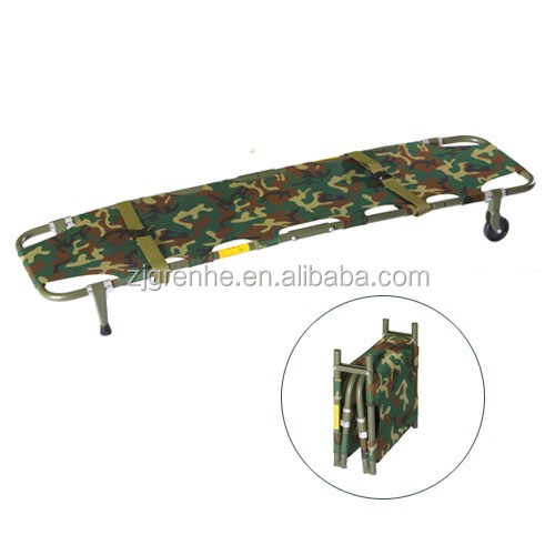 ST67043 Battlefield Stretchers Folding Stretcher