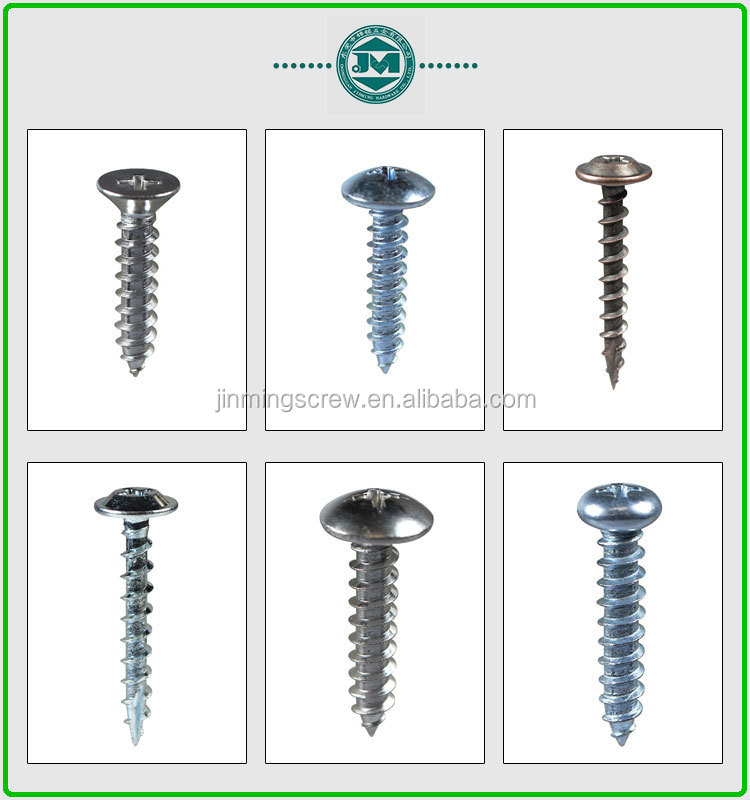 Hex Head Sheet Metal Screws With Washer Attached
