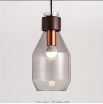 Modern Decorative Glass Pendant Lighting Nordic Style Overhead Lamp - Overhead pendant lighting