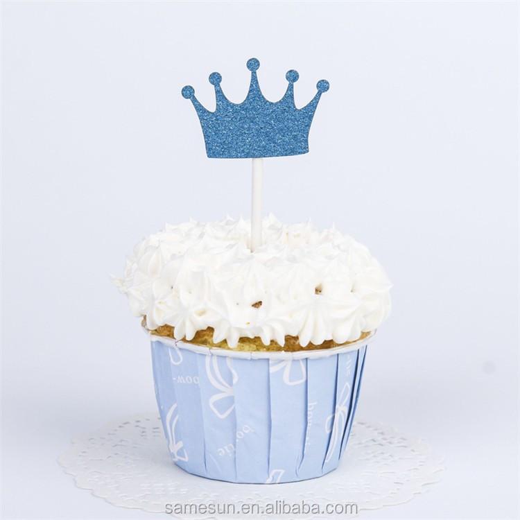 Meilun Art Craft Paper Crown Birthday Cake Topper Buy Cake