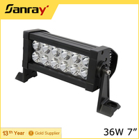 Mini Dual Row 7 Inch 36W LED Bar Lights /LED Driving Car Headlight
