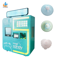 NEW flower cotton candy machine / cotton candy making machine / cotton candy