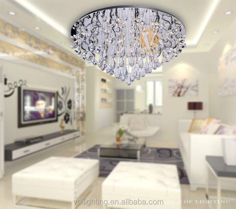 Europeo moderno illuminazione luce di cristallo ciondolo - Illuminazione sala pranzo ...