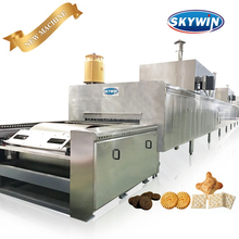 2018 Skywin Automatic Biscuit Making Machine/ Biscuit Production Line