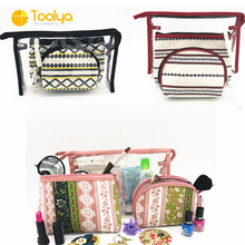 Toiletry Pouch Travel Cosmetic 3pcs makeup bag set
