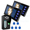New design waterproof camera intercom hands free doorbell LCD monitor outdoor video intercom for home