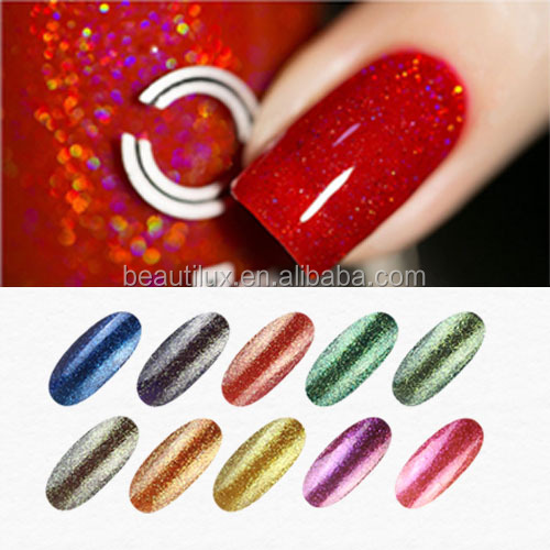 Bulk Nail Polish Magic Candy Foil Glitter UV Gel Nail Polish China
