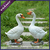 Resin goose decoration for home ornament