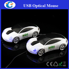 Computer related products custom design car shape mouse with PMS match