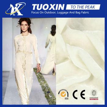 Pure Silk Crepe Fabric For Baby Towel Long Sleeve Velvet