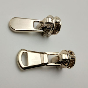 3#,5#,8# Eco-friendly Fancy Custom Logo Nickel-Free Metal Zipper Sliders and zipper Pullers