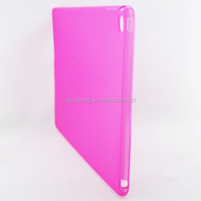 mobilephone matte pudding tpu gel case cover for ipad air 2