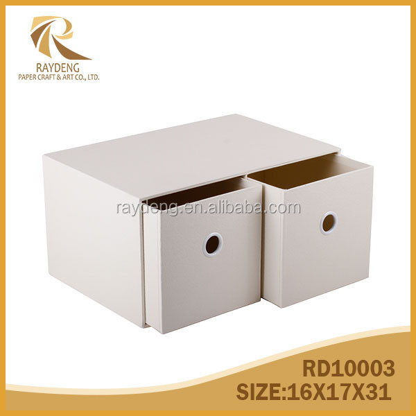 Paper storage box CD/DVD drawer