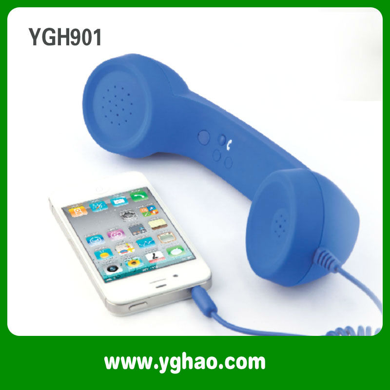 Mobile phone retro handset for Iphone ,Samsung ,HTC etc smart phone