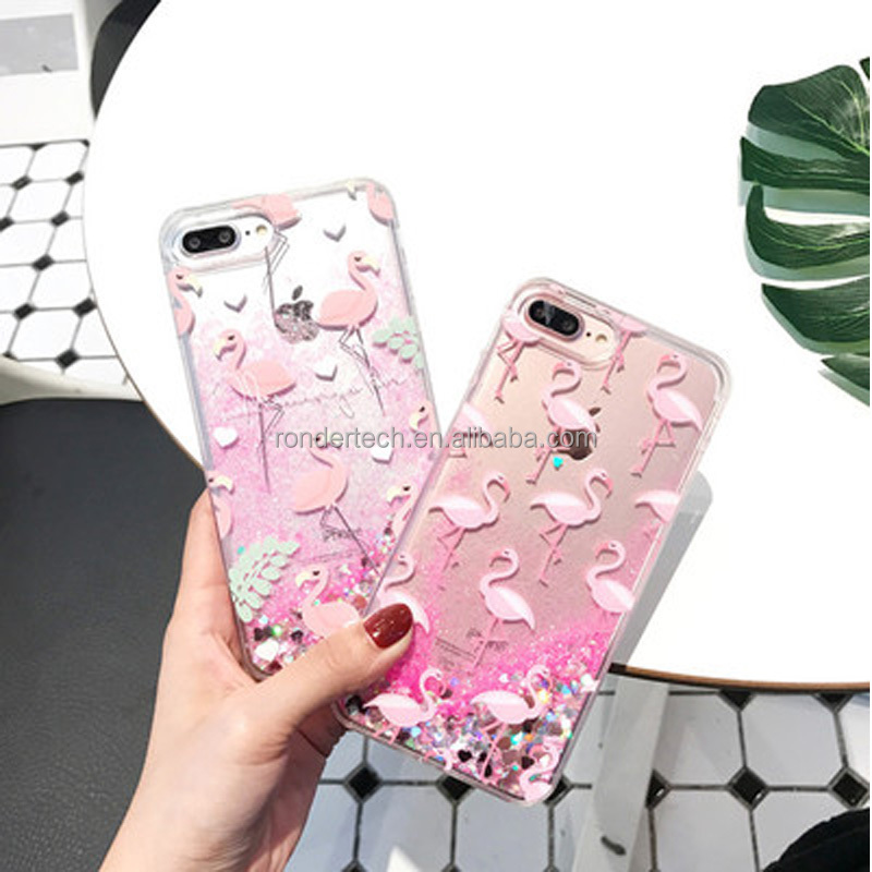 Cute Animals watercolor painting Coque For iPhone 6 6S 5 5s SE 7 7Plus Transparent Silicone Phone Cases Fundas Capa