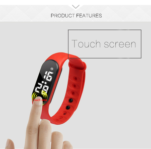 Smart wristwatch 2019 factory silicone vibrating alarm watch for adult