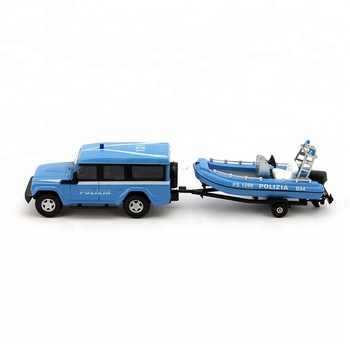 Custom metal model car and boat toy models for gift