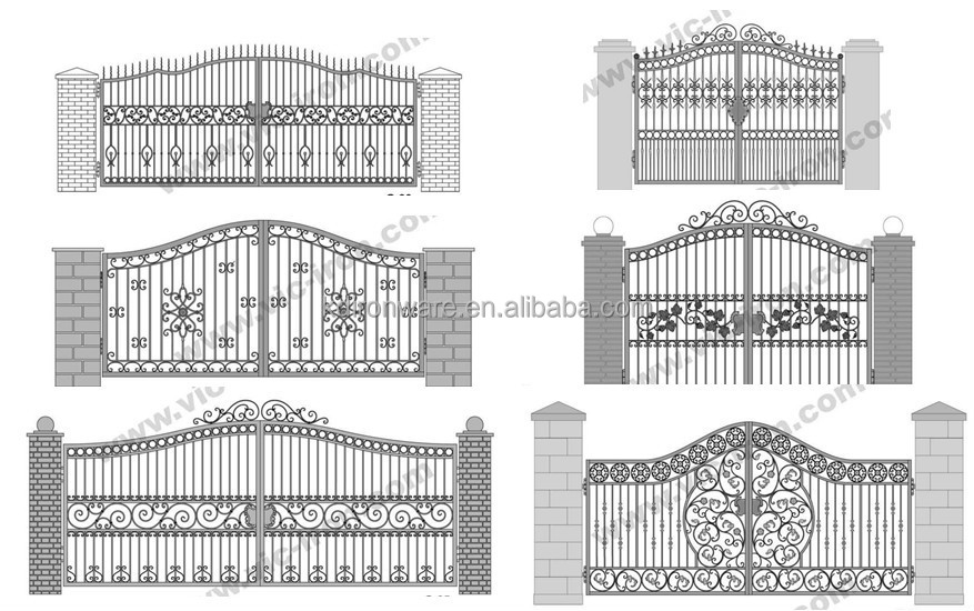 Cute Front Gate Designs For Homes Contemporary - Home Decorating ...