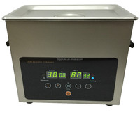 Digital control stainless steel professional style ultrasonic cleaner 3L with heating function for Jewellery Dental Glasses etc